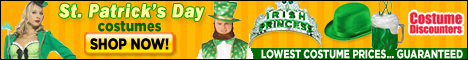 St. Patrick's Day Costumes at Costume Discounters