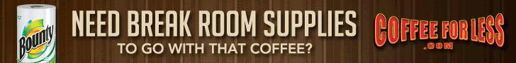 Get Break Room Supplies at CoffeeForLess.com