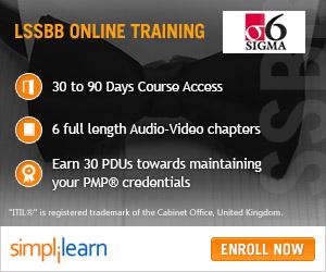 Lean Six Sigma Black Belt Online Course