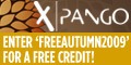 Free Xpango Credit Worth £10.00