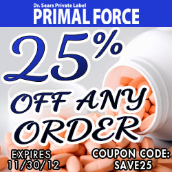 Click now and save 25% on ANY order!