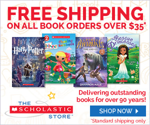 Free Standard Shipping for all Book Orders Over $35 at The Scholastic Store Online! Shop now!