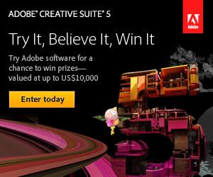 Adobe CS5 Sweepstakes!