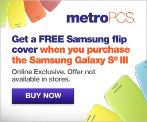 300x250 - FREE Samsung Flip Cover with purchase of the Galaxy S III