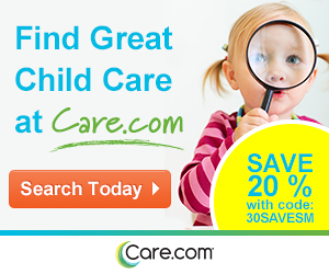 20% off first subscription period at Care.com