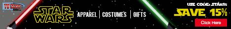 Star Wars - Save 15% use code STAR15