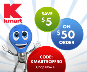 Save $5 off orders $50 or more on Kmart.com w/ code KMART5OFF50 thru 12/31/2012