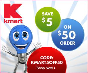 Save $5 off orders $50 or more on Kmart.com w/ code KMART5OFF50 thru 12/31/2012