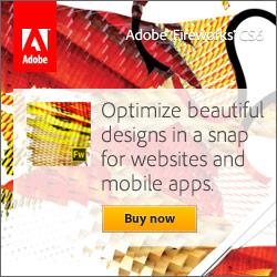 Web Development Tool - Adobe Fireworks CS4