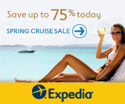 Find your craving with Expedia and save up to 75% on cruises this spring!