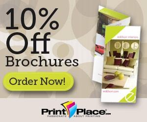 Save 10% on Brochure Orders