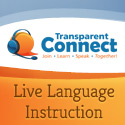 Live Language Instruction by Transparent Language