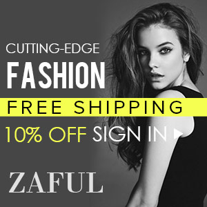 10% OFF Sign In @zaful.com!