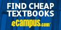 Rent or Buy Textbooks at eCampus.com