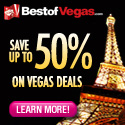 Save up to 50% on Las Vegas Shows, Attractions and Tours!