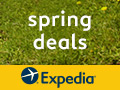 Expedia Spring Deals - Book by 4/28, Travel by 6/12