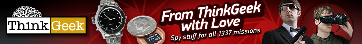 ThinkGeek Cool Spy stuff