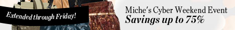 Miche's Extended Cyber Weekend Event - Savings up to 75%