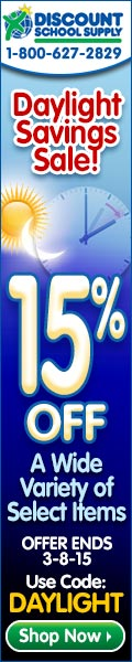 Daylight Savings Sale - Save 15% Off Of A Selection Of Great Products & Get Free Shipping On Stock O