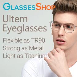 All New!  The ULTEM EYEGLASSES collection.  Visit GlassesShop.com