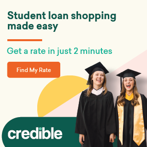 Get your student loan with Credible.