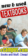 Up to 50% off Textbooks at eCampus.com!