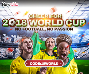 18% OFF Coupon for World Cup 2018