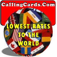 Lowest Pre-Paid Rates to the World @CallingCards.c