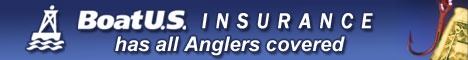 Boat US Insurance - has all Anglers covered