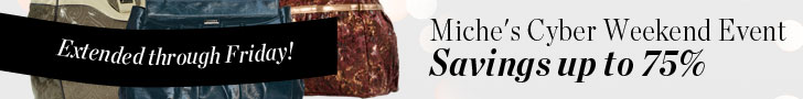 Miche s Extended Cyber Weekend Event - Savings up to 75%