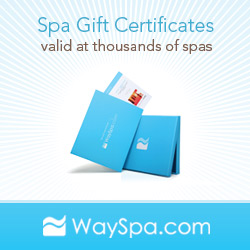Spa Gift Certificates - Valid at thousands of spas