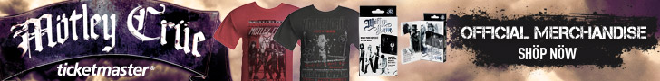 Motley Crue Official Merchandise- 2011
