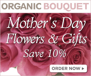 Save 10% On All Mother's Day owers & Gifts