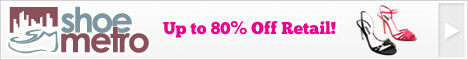 Shoe Metro Up to 80% Off + Free US Shipping