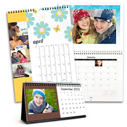 Two free calendars when you buy one at Snapfish