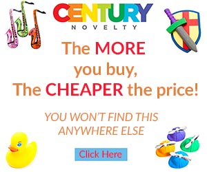 Party Goods, Gifts, Favors, Decorations, Costumes, and more from Century Novelty - Shop Now!