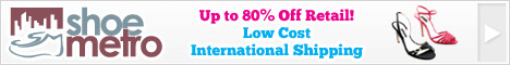 Shoe Metro - Low Cost International Shipping