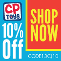 CP Toys ships to APO/FPO/DPO Addresses!