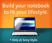 click to build your own Sony laptop
