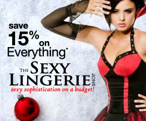 Save 15% at Sexy Lingerie Shop