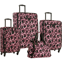 Diane von Furstenberg Odyssey  -4 Piece Luggage Set Now Only $309.95 Org. $1,120.00 Plus Free Shipping. Use Promo Code DVF5 at checkout