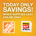 20% Off Dyson vacuums online only at homedepot.com