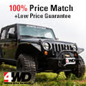 100% price match on Jeep parts and Jeep accessories