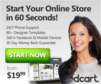 Image for 336x280 banner - Start your Online Store In 60 seconds!