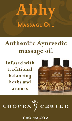 Chopra Ayurvedic Massage Oil