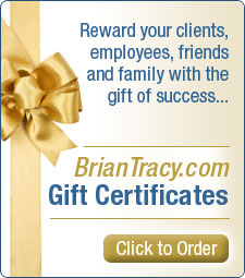Brian Tracy Gift Certificate
