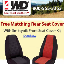 Free Rear Seat Cover