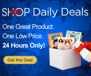 HBO Holiday Daily Deals: up to 50% off each day!