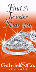 Gabriel & Company Bridal Jewelry