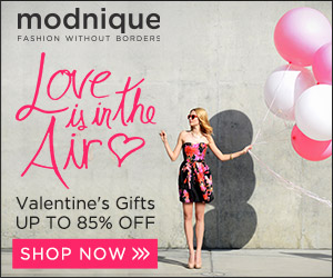 Love is in the Air! Valentine's Gifts up to 85% off at Modnique.com